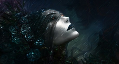 640x349_13778_Stay_2d_fantasy_portrait_death_black_dead_rain_undead_roses_vampire_necromancer_picture_im